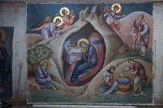 2 posts published by iconsalevizakis during September 2015 Triptych Art, Byzantine Icons, Orthodox Icons, Our Lady, Projects To Try, Christmas, Painting, September, Angels