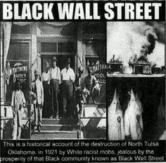 The Black Wall Street, Tulsa OK, Greenwood District