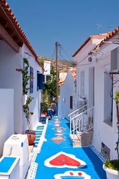 Pythagoreio town, Samos, Greece