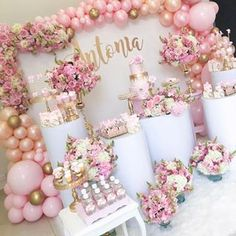 cheap this week Exalted cut quinceanera party decorations Hurry! cheap this week Girl Baby Shower Decorations, Birthday Party Decorations, Baby Shower Themes, Birthday Parties, Wedding Decorations, Shower Ideas, Quinceanera Decorations, Quinceanera Party, Balloon Decorations