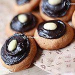 Kruche ciasteczka bez mąki, bez cukru, bez tłuszczu ;)