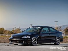 Honda Civic Si 2000 Black