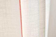 Image of White / orange adjustable light curtain