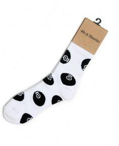 40s & Shorties - 8 Ball Sock - $12