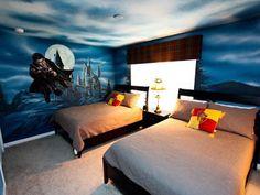 25 Desain Kamar Tidur bertema fantasi yang inspiratif Part 1 | Adadoni