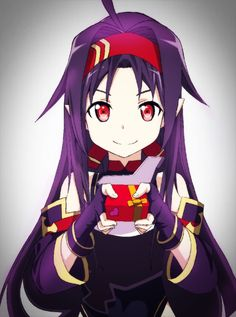 Yuuki was the younger sister of Konno Aiko and one of the three founders and the leader of the «Sleeping Knights Asuna, Arte Online, Online Art, Tous Les Anime, Sword Art Online Yuuki, Anime Kawaii, Light Novel, Anime Shows, Animation Film