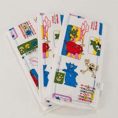 Japanese Monsters Burp Cloth Set