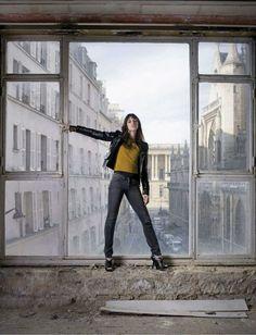 Charlotte par Kate Barry à la Samaritaine, Paris