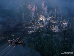Star Wars-Themed Lands at Disney's Hollywood Studios Set to Open in 2019 - looks like we're gonna have to wait awhile, Folks!