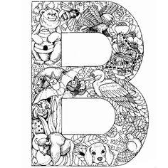 Imprimer Le Coloriage Cp Alphabet Pour