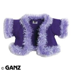$1.27 WEBKINZ CLOTHING GLAM GIRL COAT WITH FEATURE CODE. Webkinz Clothing GLAM GIRL COAT [Toy]