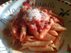 My Penne alla Vodka...click through to blog post for recipe!:)