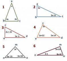 Matemática, espíritu y arte: Ángulos interiores del triángulo