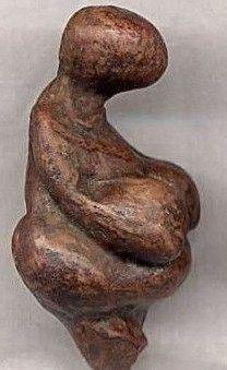 Venus of Von Gagarino - found Tambour, Ucarania, circa 22,000 BCE