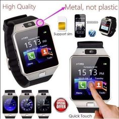 New Waterproof Bluetooth Smart Watch Phone Mate For Android IOS iPhone Samsung. Curved Screen Bluetooth Smart Watch Phone Mate for iPhone Android Samsung HTC. Curved Screen Waterproof Bluetooth Smart Watch Phone Mate For iphone Android. Samsung Android Phones, Ios Phone, Android Smartphone, Android 4, Huawei Phones, Android Watch, Iphone 7, Remote Camera, Camera Phone