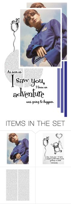 """""""""""As soon as I saw you..."""" // Kim Taehyung"""" by lola-twfanmily ❤ liked on Polyvore featuring art"""