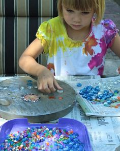stepping stones craft with kids have each class make a stepping stone for the school garden
