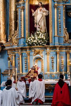 anta Misa Solemne, celebrada por Monseñor Baseotto, en el Marco del X Aniversario del Motu Prorio Summorum Pontificum 2017- Buenos Aires-