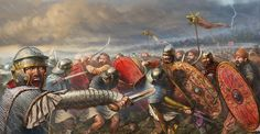 Romans vs Dacians at the Battle of Tapae 101 AD