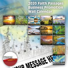 2021 Christian Faith wall calendars - low as Fundraise for your Church or School. Promote your Business in the homes and offices of people in your area every day! Canadian Holidays, Us Holidays, Date Squares, Calendar App, Post Ad, Advertise Your Business, King James Bible, Free Advertising, Daily Activities