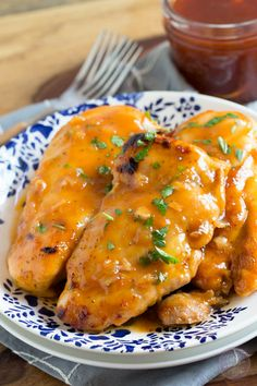 Sweet & Tangy Russian Apricot Chicken