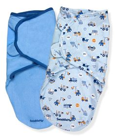 This SwaddleMe Blue Transportation SwaddleMe® Set by SwaddleMe is perfect! #zulilyfinds
