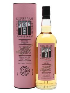 Kilkerran (Glengyle) - work in progress, 6th release, bourbon wood