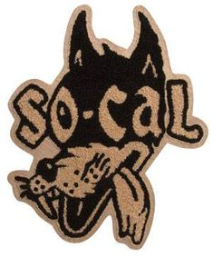SO-CAL Speed Shop Classic Wolf Chenille Patch
