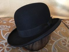 1e7d06fcbc3 Bond Victorian Era Black Bowler Hat 7 1 4.  Bowler Black Bowler Hat
