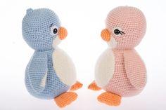 Penguins Cara & Milo Amigurumi Pattern