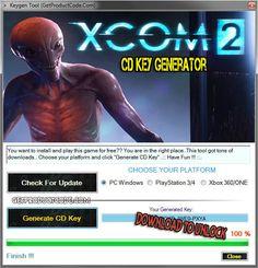 XCOM 2 CD Key Generator 2016