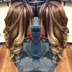 10 bombshell blonde highlights on brown hair cabello peinados y all over blonde highlight with a brown red base pmusecretfo Image collections
