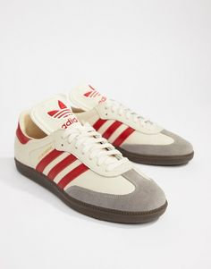 6aa1be26a88 adidas Originals Samba FB Sneakers In White CQ2216