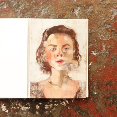 Swap self portraits with another artist through our latest creative challenge, The Pen Pal Painting Exchange!   Self portrait by Sydney Bowers from Brooklyn