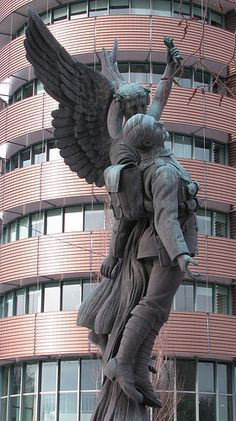 Winged Angel by mrchristian, via Flickr