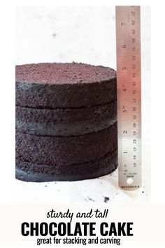 Chocolate Cake Recipe For Fondant, Fluffy Chocolate Cake, Chocolate Texture, Chocolate Cakes, Best Cake Recipe For Carving, Best Cake Recipes, How To Stack Cakes, Different Cakes, Occasion Cakes