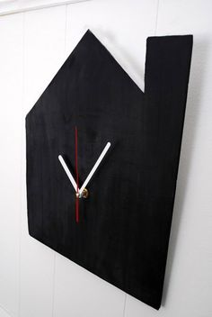 Chalkboard Clock - Think Crafts by CreateForLess