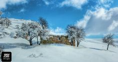 Picture from Falougha, #lebanon Photo sent by Kamil El Rayess #livelovelebanon #snow #nature