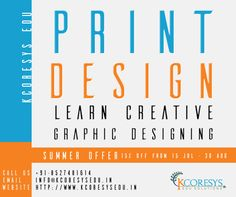 Looking for web development or #SEO or #print_design_training_in_Noida, to start a career you have always dreamed off? KCORESYS Edu Solutions is the right choice with expert trainers. We offer the best internship and industrial training on live projects to students and professionals so that they can build a strong career graph.   For more details contact here:- +91 8527481614