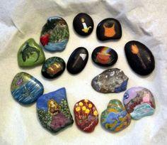 More of my story stones - Sharon Jorgensen