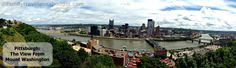 Pittsburgh's Mount Washington, the best urban vista in the nation!!! (USA Today says so!)