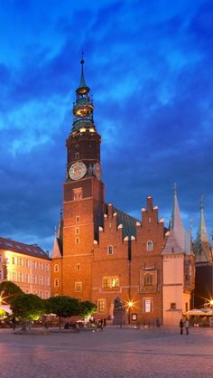 Wroclaw Town Hall, Poland