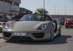 Nice Porsche 918 Spyder in Unique 'Fashion Grey' Colour :http://mixzenn.com/nice-porsche-918-spyder-in-unique-fashion-grey-colour/