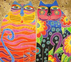 For those shoes I plan to paint: Artist Laurel Burch Hand Painted Fashion Tote Bag
