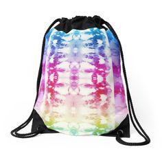 Tie Dye Stripe Therapist Bag