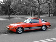 Perfection in red. Fort Walton Beach, Rx7, Japanese Cars, Old Cars, Mazda, Motors, Vehicles, School, Amazing
