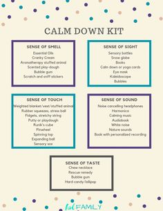 Learn how to make a calm down kit for emotional regulation in kids. Great for kids with autism, aspergers, ADHD, anxiety and other special needs. Coping Skills, Social Skills, Social Work, Calm Down Kit, How To Calm Down, Calm Down Corner, Calming Activities, Music Therapy Activities, Anxiety Activities