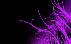 Black And Purple Abstract Wallpaper - All Cool Wallpapers