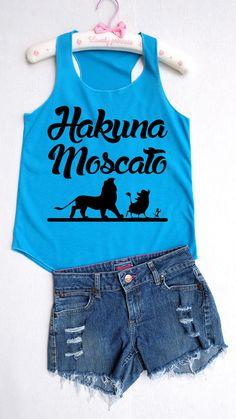 Flock Hakuna Moscato  Disney shirtDisney tank by RainbowTank