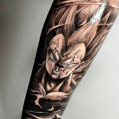 [New] The 10 Best Tattoo Ideas Today (with Pictures) - MALDITO KAKAROTO ! - Vegeta principe dos Sayajins Resultado sempre satisfatorio com a Demais fazer esse trampo [New] The 10 Best Tattoo Ideas Today (with Pictures) - Bull Skull Tattoos, Leg Tattoos, Body Art Tattoos, Sleeve Tattoos, Tattoos For Guys, Tattoos For Women, Cool Tattoos, Majin Tattoo, Z Tattoo